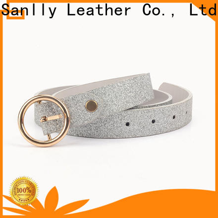 Sanlly Custom womens fashion leather belts company