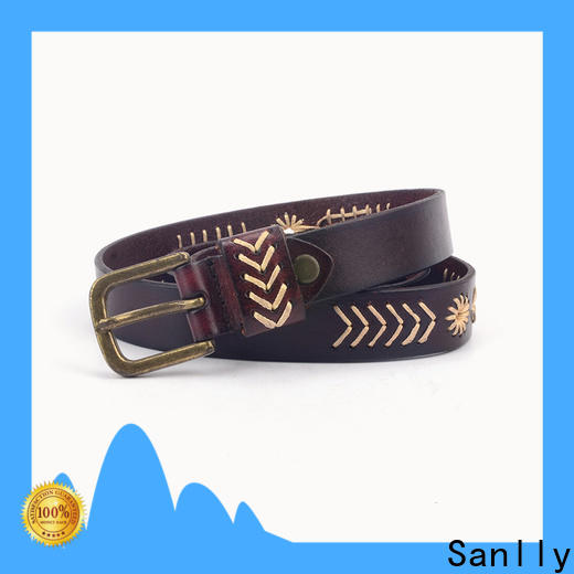 Sanlly quality male designer belts factory for shopping