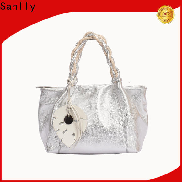 Sanlly classic mens leather satchel Suppliers for fashion