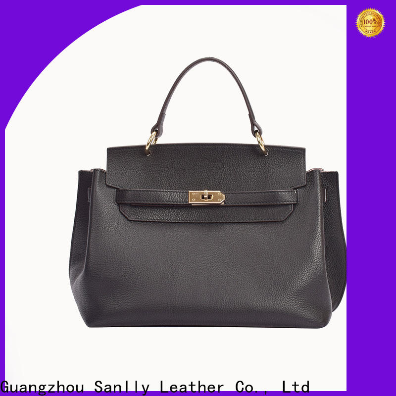 Sanlly Breathable soft leather handbags factory for modern women