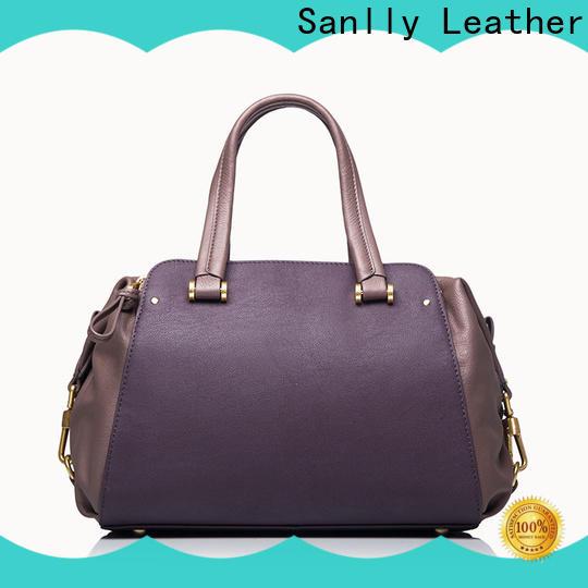 Sanlly Best leather satchel bulk production for fashion