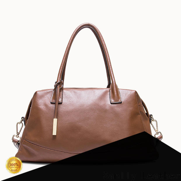Sanlly leather leather satchel for women buy now for shopping
