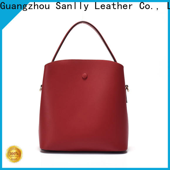 Sanlly leather ladies shopping bag Suppliers for women