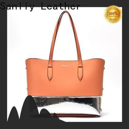 Sanlly New black colour hand bags company for women