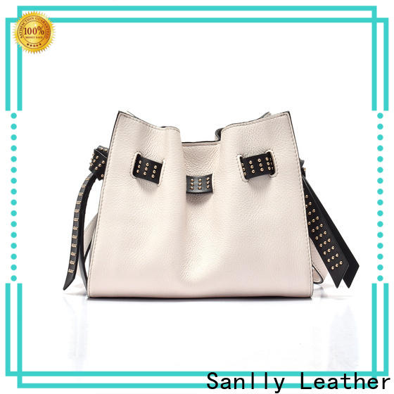 Breathable large soft leather shoulder bag leather ODM for women