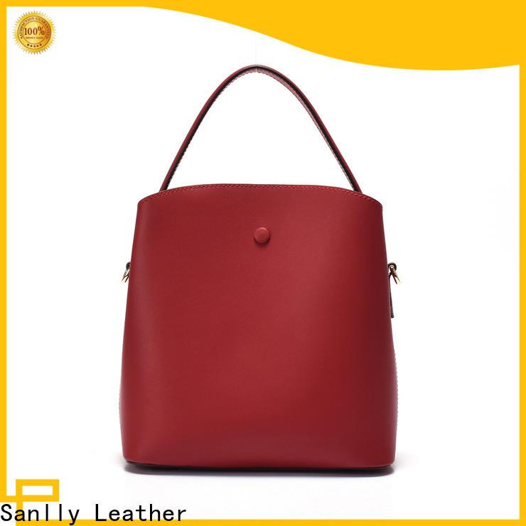 Sanlly funky shoulder shopping bag bulk production for girls