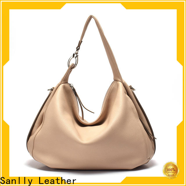 Sanlly Wholesale leather hobo bags free sample for shopping