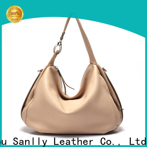 Sanlly Latest blue leather handbags and purses ODM for women