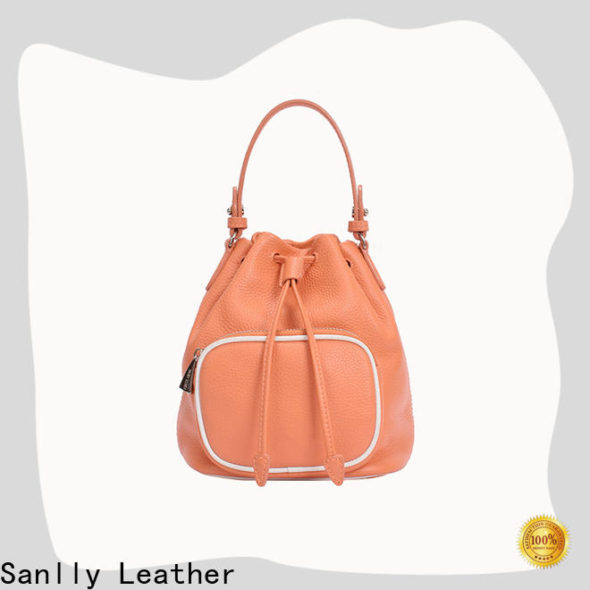 High-quality ladies leather shoulder bag wristlet factory for summer