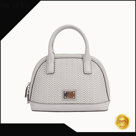 Sanlly Custom the leather satchel buy now for fashion