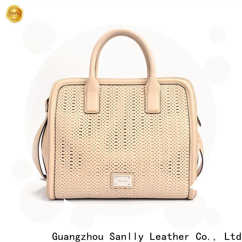 Sanlly classic funky handbags customization for shopping