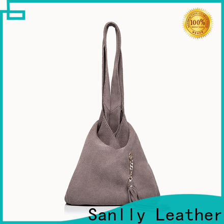 Sanlly fashion best leather handbags supplier for girls