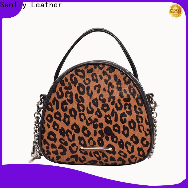 Sanlly solid mesh women handbags brands buy now for modern women