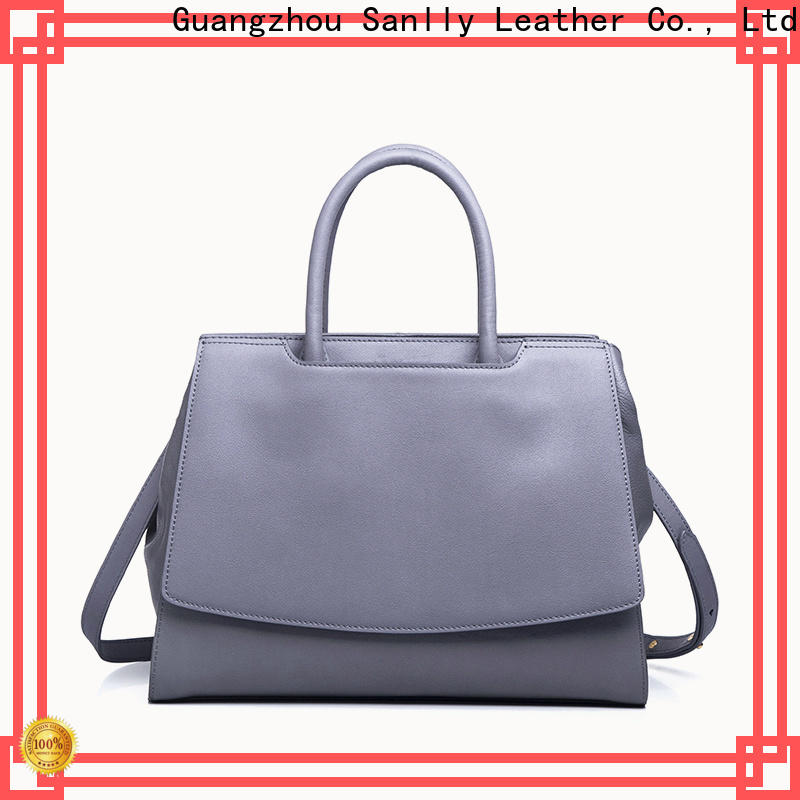 Sanlly Top black and brown leather handbags Suppliers for modern women