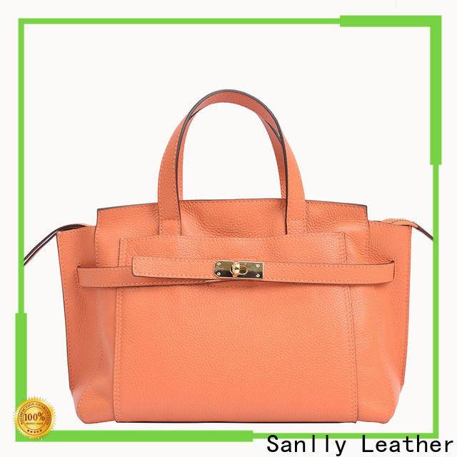 Sanlly genuine green leather handbags Suppliers for shopping
