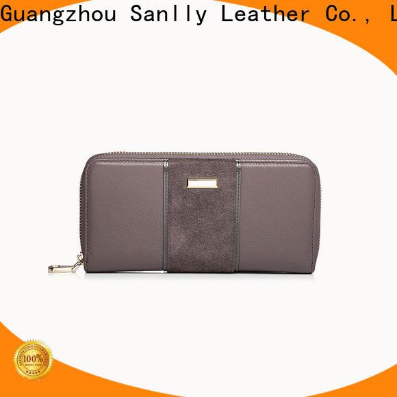 Sanlly Custom leather ladies wallets online Supply for single shoulder