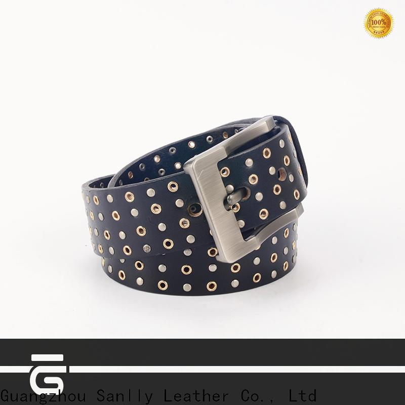 Sanlly Custom mens summer belts for men