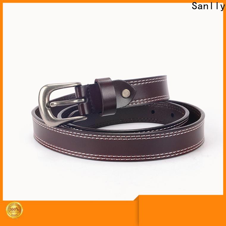 Sanlly Custom expensive mens belts for men