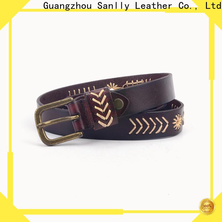 Sanlly punk latest belt for men company for shopping