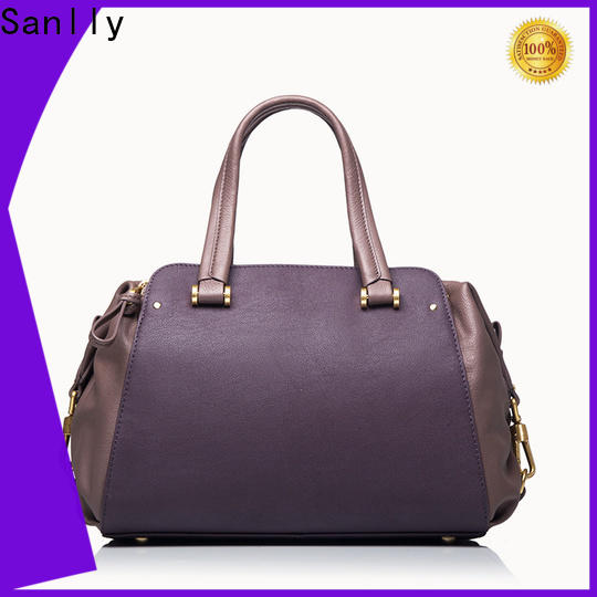 Top leather satchel company classic Suppliers for shopping