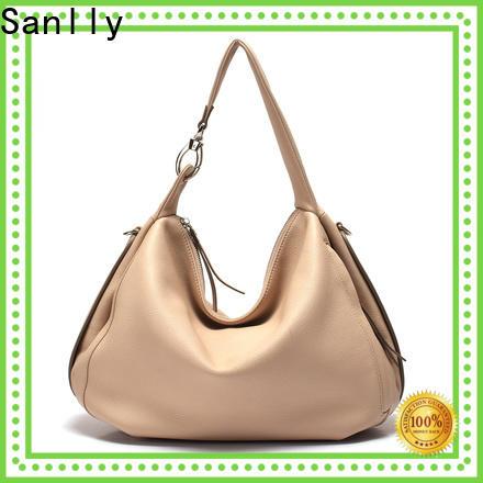 Best brown leather bag ladies handbag factory for summer