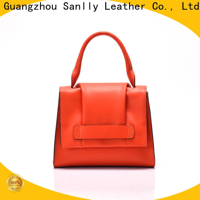 Sanlly solid mesh suede over the shoulder bag customization for modern women
