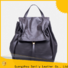 Sanlly top leather backpack bag company for women