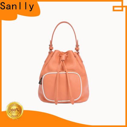 Sanlly suede vintage leather bag Supply for women
