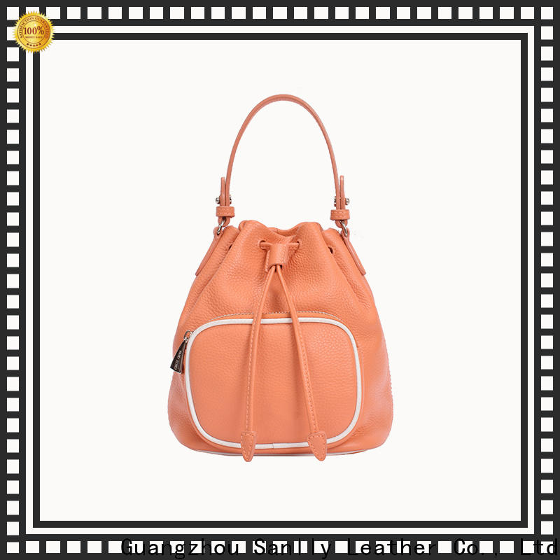 Sanlly durable where to buy leather bags supplier