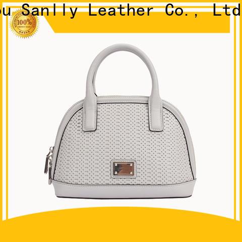 Sanlly shopping latest ladies leather handbags customization for women