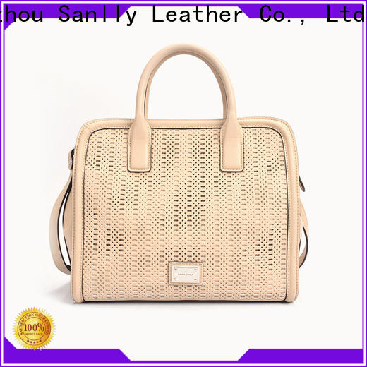 Sanlly Latest leather satchel bag for shopping