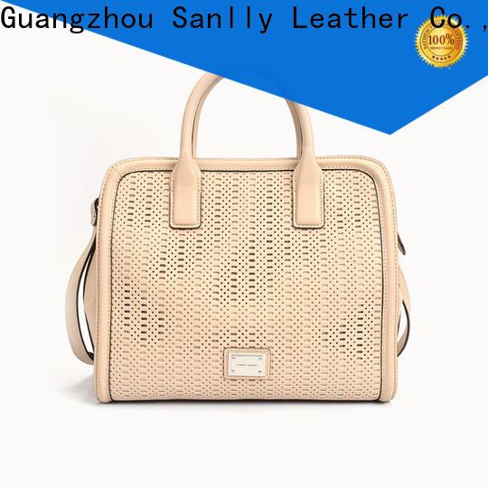 Sanlly metal where to buy leather handbags customization