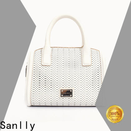 Sanlly High-quality the leather satchel supplier for shopping