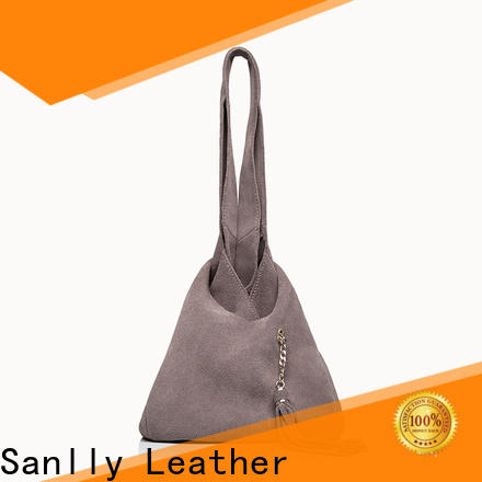 latest simple black leather tote suede for wholesale for single shoulder