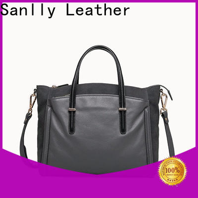 Sanlly handbag womens large leather tote free sample