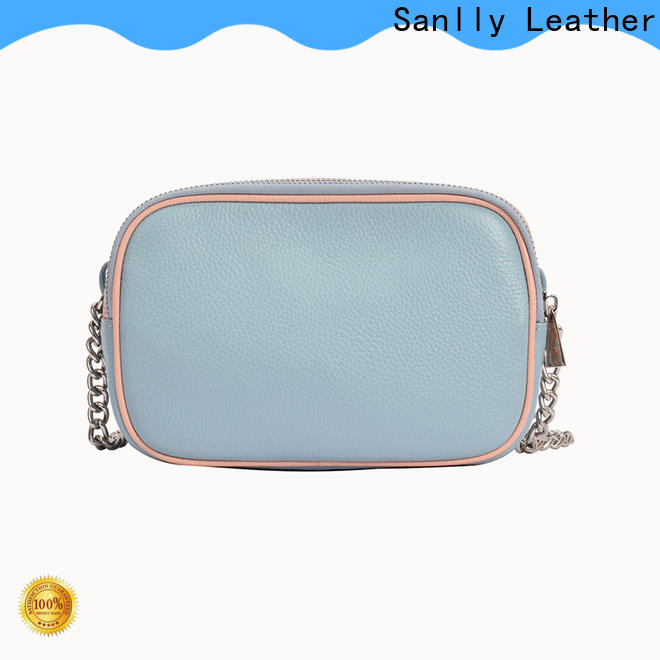 High-quality ladies purse bag leather factory for fashion