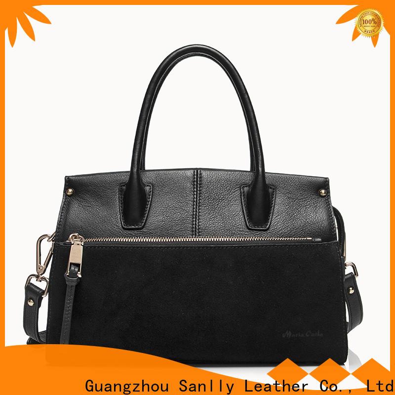 Breathable leather satchel handbags bag for wholesale for modern women