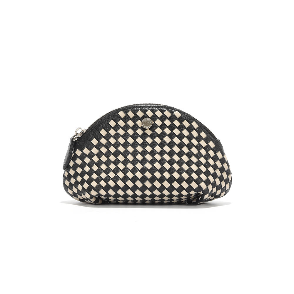Square woven women's purse small bag wallet shell small bag