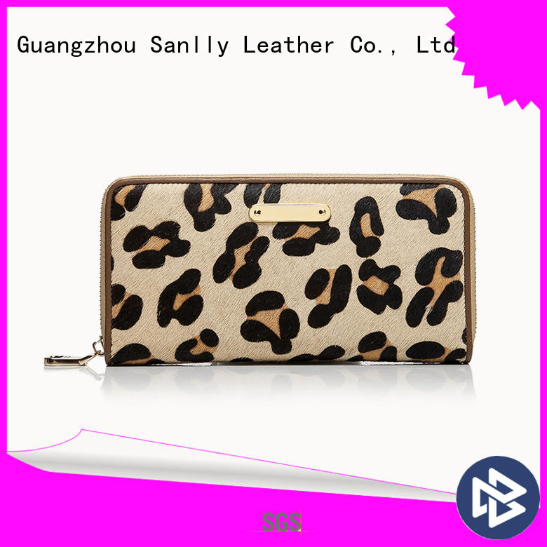 Sanlly funky zip around wallet womens free sample for girls