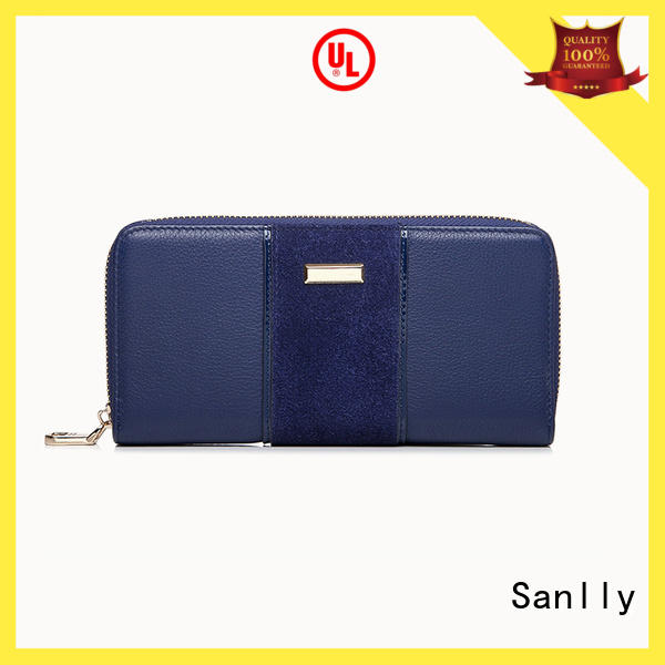 Sanlly at discount ladies bifold leather wallet supplier for shopping
