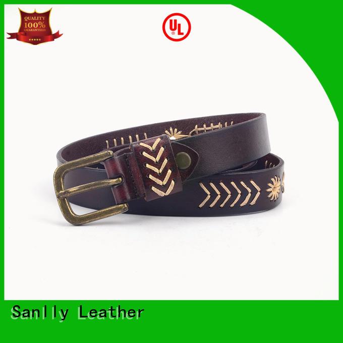 Sanlly durable best belts for men free sample for girls