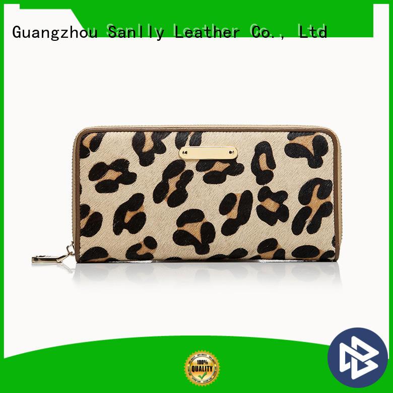 women's leather billfold wallets
