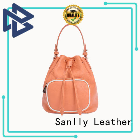 size ladies leather tote bag customization for single shoulder Sanlly