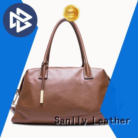 women's designer handbags brown for shopping Sanlly