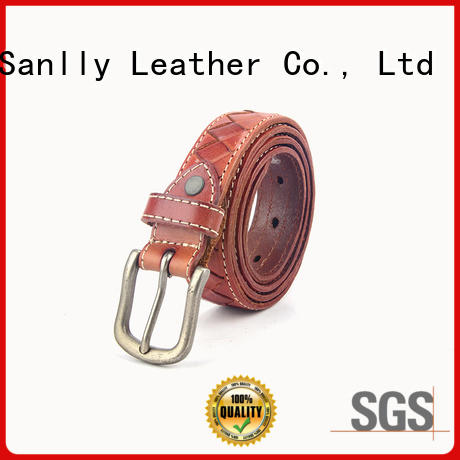 Breathable quality mens belts solid customization for men