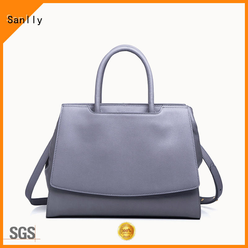 Breathable women's leather handbags smooth OEM for modern women