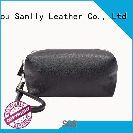 Sanlly on-sale best leather wristlet OEM for shopping