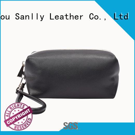 Sanlly wristlets women's leather wristlet wallet OEM for women