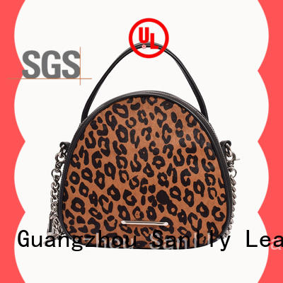Sanlly metal shopping ladies bag bulk production for women
