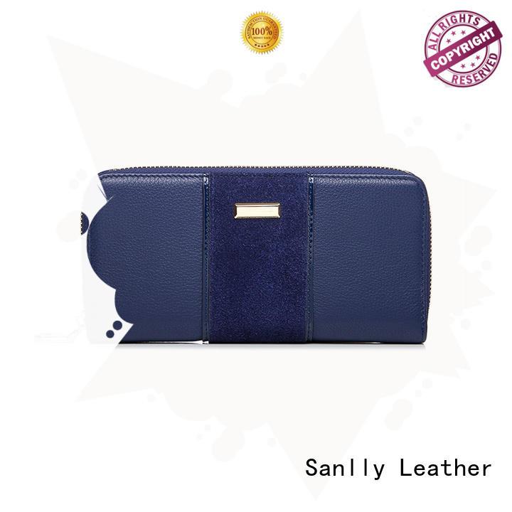 Sanlly Best teal womens wallet factory for modern women